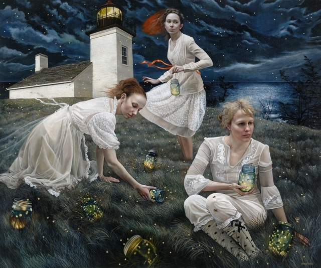 Andrea Kowch - Light keepers