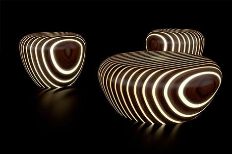 led-lighting-wood-furniture