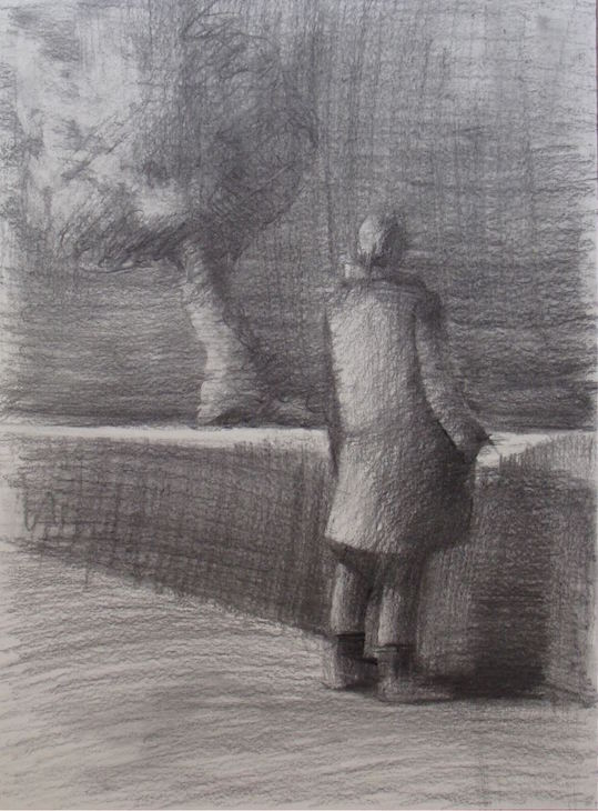 figure-2014-charcoal-on-paper