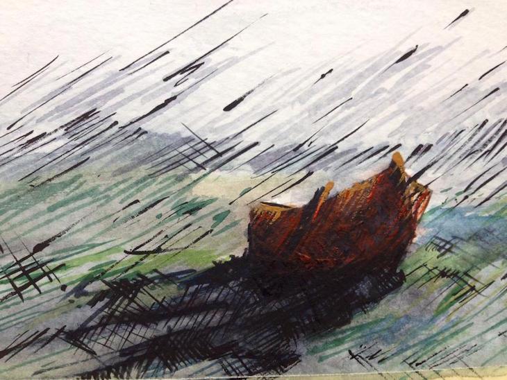 seascape-2015-aquarelle-on-paper