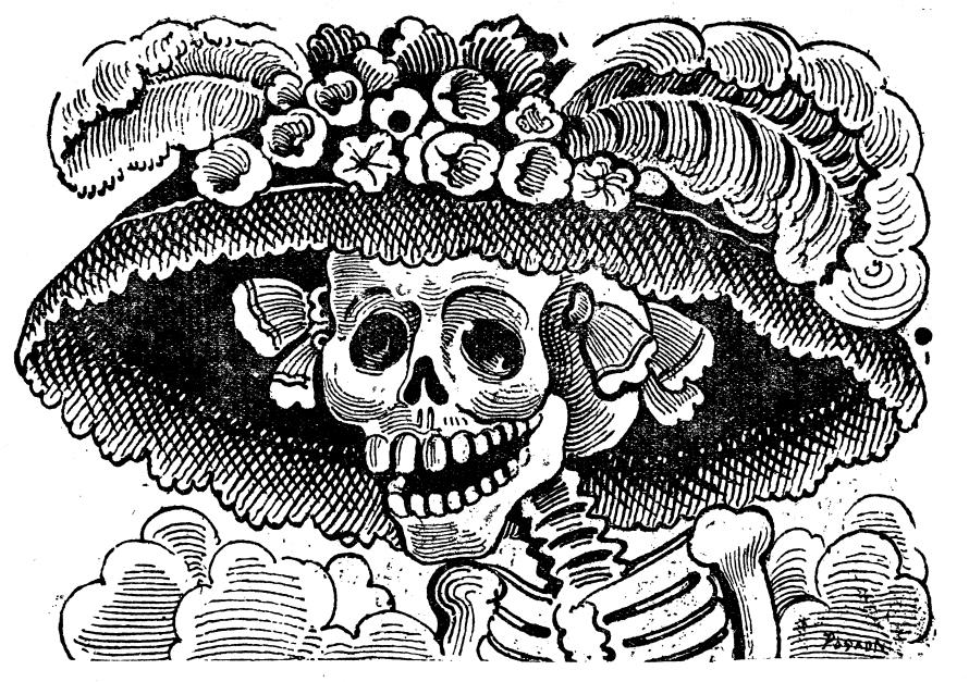 José Guadalupe Posada, Νεκροκεφαλή Γαρμπανσέρα